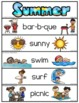 Word Wall Words_Summer