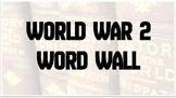 Word Wall World War 2