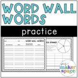 Word Wall Writing Practice