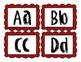 Word Wall- alphabet headers