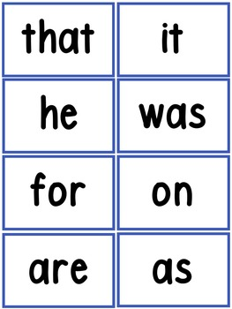 Word Wall and 100 Fry Words -Superhero or Red, White and Blue Theme