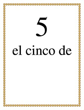 Word Wall and Activity for Spanish Days, Months, and the Date