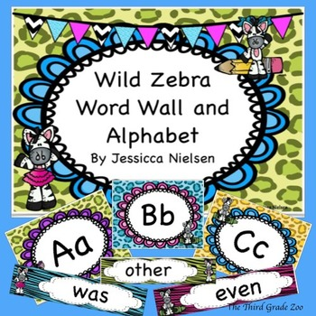 Word Wall and Alphabet (300 words from Fry's High Frequenc