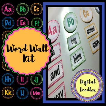 Word Wall and Alphabet Kit