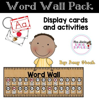 Word Wall and Monthly Words pack