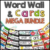 Word Wall: Word Wall and Tracing Bundle