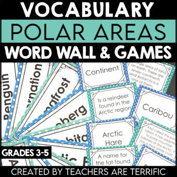 Polar Regions Vocabulary and Word Wall