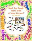 Word Wall and Word Crowns with Pictures: Dolch 2nd / Second Grade