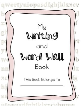 Word Wall and Writing Book