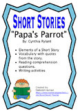 """Papa's Parrot"" by Cynthia Rylant"