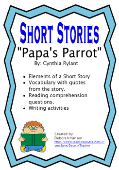 """Papa's Parrot"" by Cynthia Rylant"