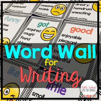 Word Wall for Writing