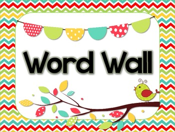 Word wall header and alphabet cards by amy marshall tpt for Word wall template printable