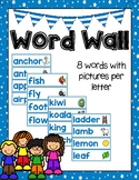 Dual Language Word Wall in English ( vocabulary cards)-Gomez and Gomez style