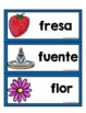 Word Wall in Spanish with Pictures (pared de palabras)