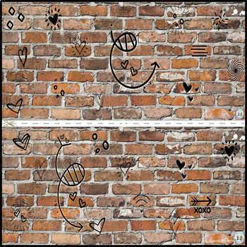 Word Wall on a Brick Wall
