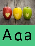 Word Wall with Corresponding Sounds A-J