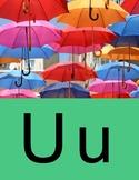 Word Wall with Corresponding Sounds U-Z