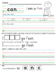 Word Wall/Sight Word Worksheets (Beginning Words Pre K - K)
