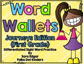Word Wallet-Journeys FIRST grade Edition