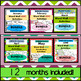 Word Walls & Activities, English version {BUNDLE!} All 12 months!