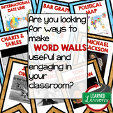 Word Walls: How to Use Word Walls Professional Development Blog Series
