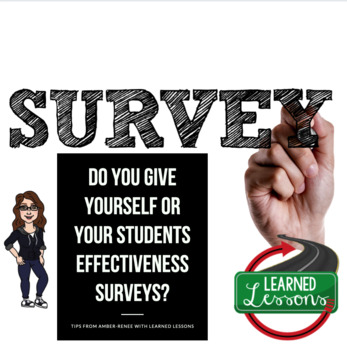 Student Effectiveness Surveys, Teacher Effectiveness Surveys for Back-to-School