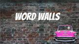 Word Walls (Spanish/French/Arabic/Chinese)