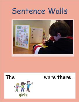 Word Walls become Sentence Walls