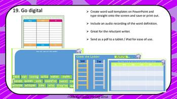 Word Walls - parent presentation