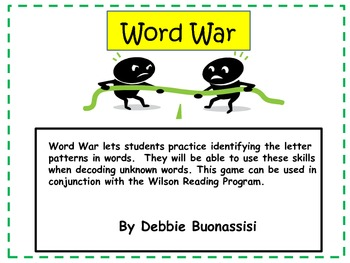 Word War:  Closed Syllables