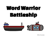 Word Warrior Battleship