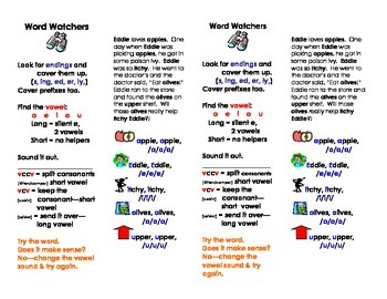 Word Watchers Strategy Bookmarks