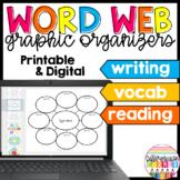 Word Web Graphic Organizer