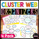 Word Web Graphic Organizer *3 pack*