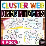 Word Web Graphic Organizer *3 pack*