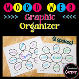 Word Web Graphic Organizer *8 spots*