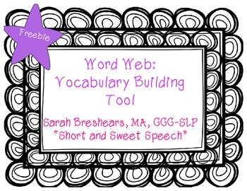 Word Web: Vocabulary Building Tool