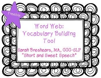 Word Web: Vocabulary Building Tool