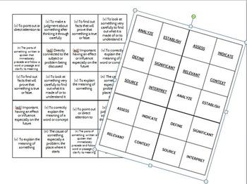 Word-Whack Fun Vocabulary Game
