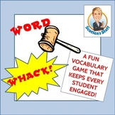 Word-Whack Fun Vocabulary Game