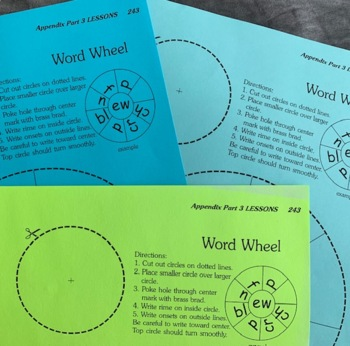 Word Wheel Game   Fun Phonics Instruction & Review
