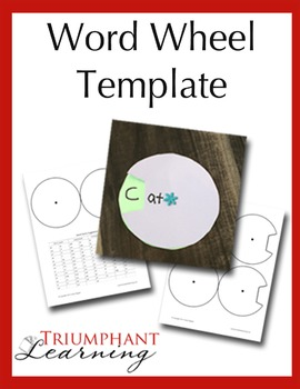 Word Wheel Template