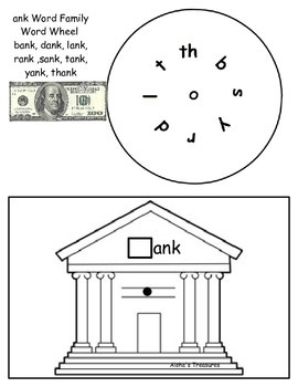 Word Wheel-ank word family