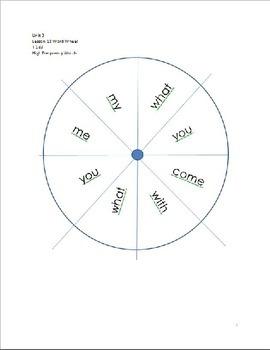 Word Wheels Journey Unit 3 Lesson 13
