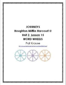 Word Wheels Journey Unit 3 Lesson 15