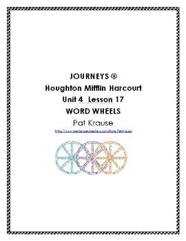 Word Wheels Journey Unit 4 Lesson 17