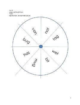 Word Wheels Journey Unit 4 Lesson 19
