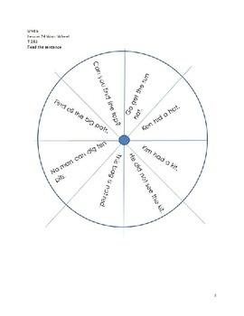 Word Wheels Journey Unit 5 Lesson 24