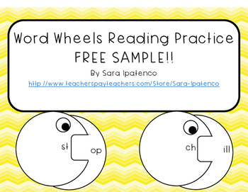 Word Wheels: Letter Blends and Consonant Clusters FREE SAMPLE!!